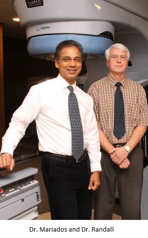 Meet Our Radiation Oncologists Neil F. Mariados, M.D. & Stephen H. Randall, M.D.